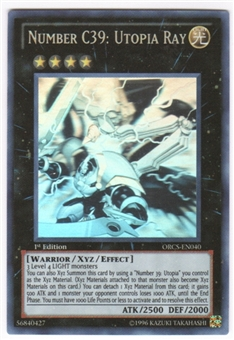 Yu-Gi-Oh Order of Chaos Single Number C39: Utopia Ray Ghost Rare