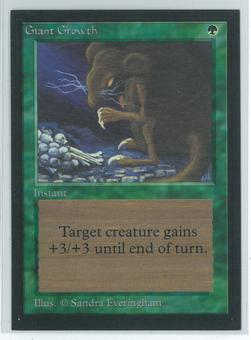 Magic the Gathering Beta Artist Proof Giant Growth - SIGNED & NUMBERED BY SANDRA EVERINGHAM