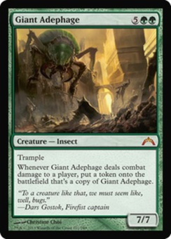 Magic the Gathering Gatecrash Single Giant Adephage - NEAR MINT (NM)