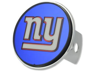 "New York Giants Rico Industries 4 "" Laser Trailer Hitch Cover"