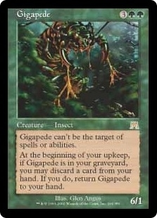Magic the Gathering Onslaught Single Gigapede - NEAR MINT (NM)