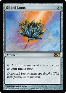 Magic the Gathering 2013 Single Gilded Lotus Foil - NEAR MINT (NM)