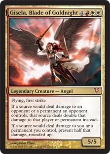 Magic the Gathering Avacyn Restored Single Gisela, Blade of Goldnight Foil