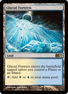 Magic the Gathering 2013 Single Glacial Fortress - NEAR MINT (NM)