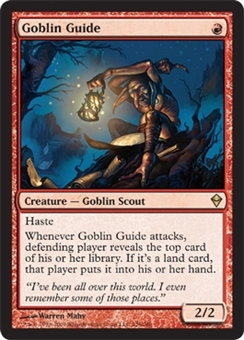 Magic the Gathering Zendikar Single Goblin Guide - NEAR MINT (NM)