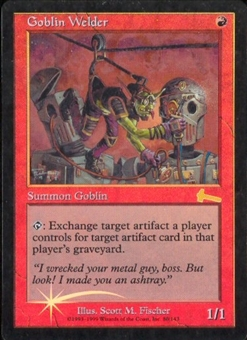Magic the Gathering Urza's Legacy Single Goblin Welder Foil