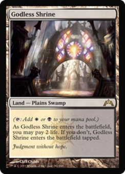 Magic the Gathering Gatecrash Single Godless Shrine Foil - NEAR MINT (NM)