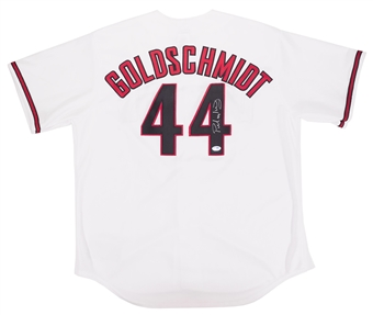 Paul Goldschmidt Autographed Arizona Diamondbacks Majestic Jersey (PSA)