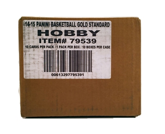2014/15 Panini Gold Standard Basketball Hobby 10-Box Case