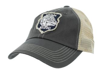 Gonzaga Bulldogs Top Of The World Slated Gray Snapback Hat (Adult One Size)