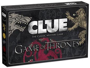 Clue: Game of Thrones Mystery Game (USAopoly)