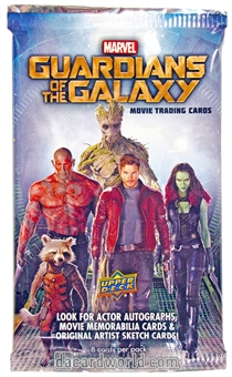 Marvel Guardians of the Galaxy Movie Trading Cards Hobby Pack (Upper Deck 2014)