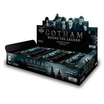Gotham: Before the Legend Season 1 Trading Cards Box (Cryptozoic 2016) (Presell)