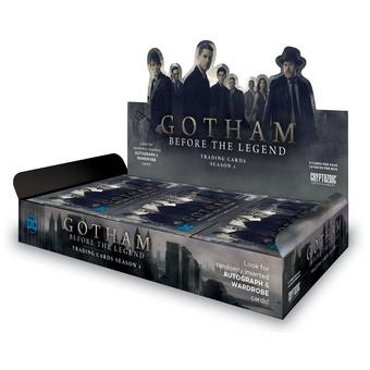 Gotham Season 2 Trading Cards Box (Cryptozoic 2016) (Presell)