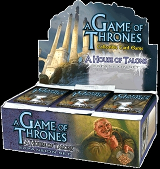 Fantasy Flight Games A Game of Thrones House of Talons Booster Box
