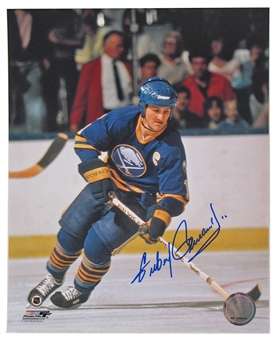 Gilbert Perreault Autographed Buffalo Sabres Captain 8x10 Hockey Photo