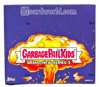 Garbage Pail Kids Brand New Series 3 Retail 24-Pack Box (Topps 2013)