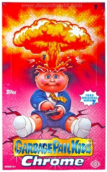 Garbage Pail Kids Chrome Hobby Box (Topps 2013)