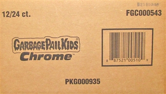 Garbage Pail Kids Chrome Hobby 12-Box Case (Topps 2013)
