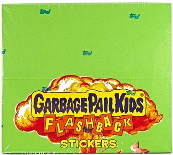 Garbage Pail Kids Flashback Series 3 Sticker Box (Topps 2011)