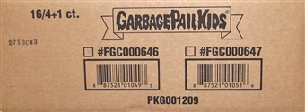 Garbage Pail Kids Brand New Series 3 4-Pack 16-Box Case (Topps 2013)