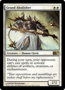 Magic the Gathering 2012 Single Grand Abolisher UNPLAYED (NM/MT)