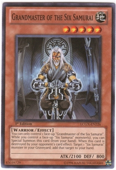 Yu-Gi-Oh Legendary Collection 2 Single Grandmaster of the Six Samurai Common