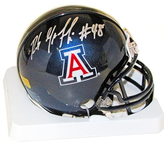 Rob Gronkowski Autographed Arizona Wildcats Mini Helmet