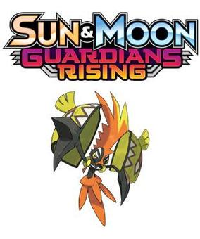 Pokemon Sun & Moon: Guardians Rising Theme Deck 6-Box Case (Presell)
