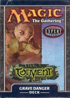 Magic the Gathering Torment Grave Danger Precon Theme Deck