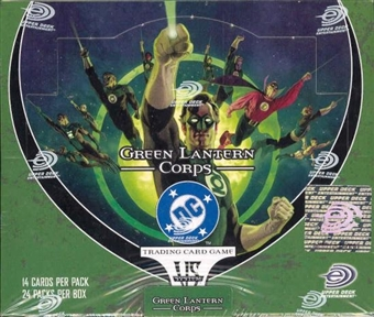 Vs System DC Green Lantern Corps Booster Box