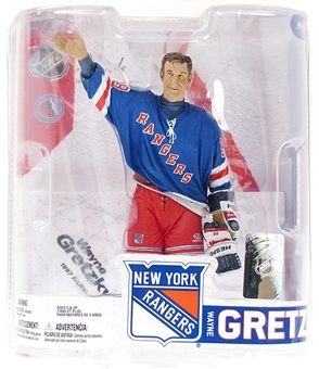 Wayne Gretzky NY Rangers NHL McFarlane Series 6 Legends Figure
