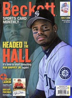 2016 Beckett Sports Card Monthly Price Guide (#372 March) (Ken Griffey Jr.)