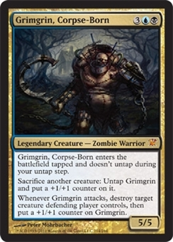 Magic the Gathering Innistrad Single Grimgrin, Corpse-Born - NEAR MINT (NM)