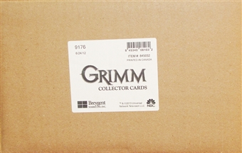 Grimm Collector's Trading Cards 12-Box Case (Breygent 2013)
