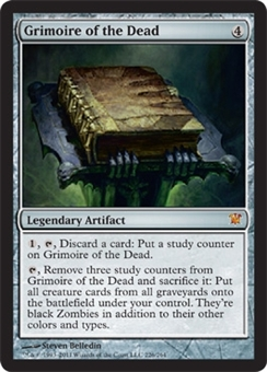 Magic the Gathering Innistrad Single Grimoire of the Dead - NEAR MINT (NM)