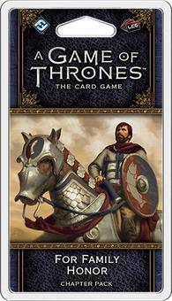 A Game Of Thrones LCG (2nd Edition) - For Family Honor Chapter Pack (Fantasy Flight Games) (Presell)