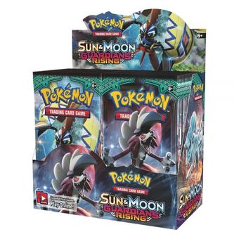 Pokemon Sun & Moon: Guardians Rising Booster Box (Presell)
