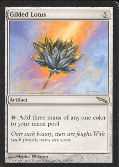 Magic the Gathering Mirrodin Single Gilded Lotus - SLIGHT PLAY (SP)
