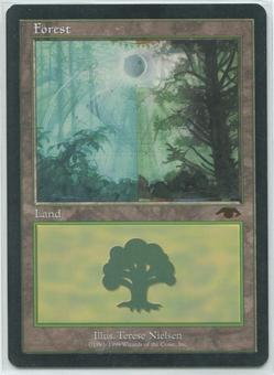 Magic the Gathering Promo Single GURU Forest - NEAR MINT (NM)