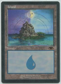 Magic the Gathering Promo Single GURU Island - NEAR MINT (NM)