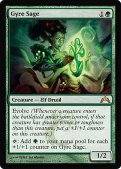 Magic the Gathering Gatecrash Single Gyre Sage - NEAR MINT (NM)