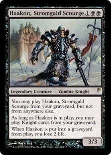 Magic the Gathering Coldsnap Single Haakon, Stromgald Scourge Foil