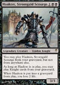 Magic the Gathering Coldsnap Single Haakon, Stromgald Scourge UNPLAYED (NM/MT)