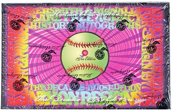 2013 Historic Autograph Decades 1970's Baseball Hobby Box