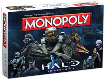 Monopoly: Halo Collector's Edition (USAopoly)