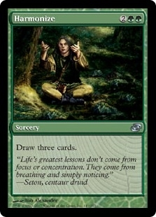 Magic the Gathering Planar Chaos Single Harmonize - NEAR MINT (NM)