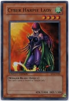 Yu-Gi-Oh Promo Single Cyber Harpie Lady Ultra Rare (SP1-EN001)