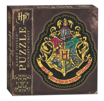 Harry Potter Hogwarts Crest Shaped Puzzle (USAopoly)