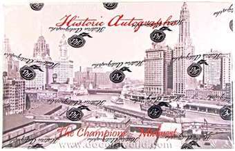 2012 Historic Autograph Midwest Champions Edition Baseball Hobby Box